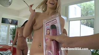 FIVE Lesbian Girls in Exclusive Girl on Girl Orgy Sex by GGW