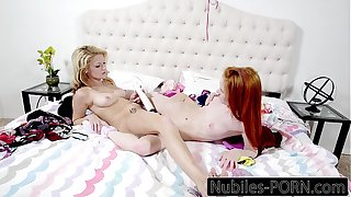 Dolly Little And Hope Harper Pussy Licking And Toys
