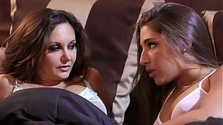 Abella Danger and Ava Addams at Mommy's Girl