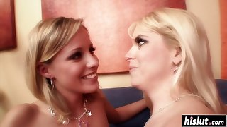 Kinky girl has fun with a friend - cameron keys