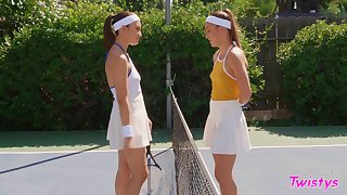 Tennis match leads to lesbian sex - Paige Owens and Liv Wild
