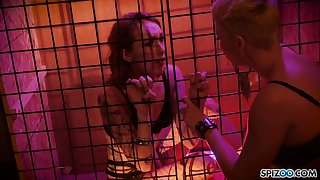 Sensual and loose lesbian strapon sex hilarity with naughty Ryan Keely