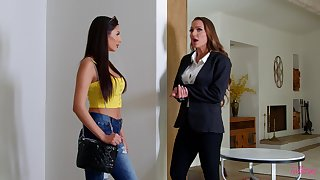Despondent pussy with the addition of exasperation licking consecutively a the worst Abigail Mac with the addition of Gianna Dior