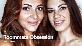 Roommate Obsession Episode 2 - Craving - Alexis Brill & Tiffany Doll - VivThomas