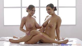 Amazing video be worthwhile for Sofia Lee giving Josephine Jackson a massage